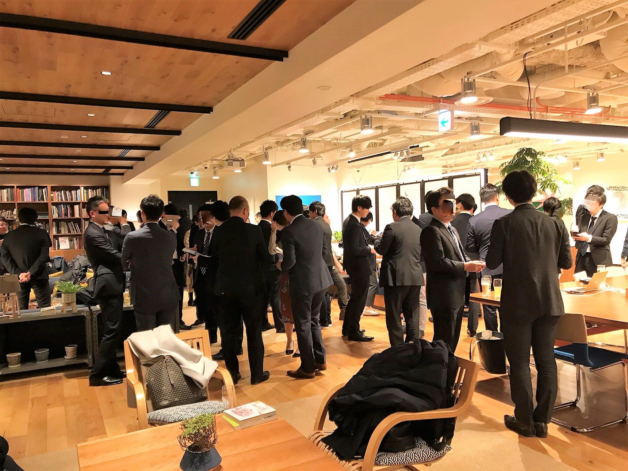 第三回 経営者・士業交流会 東京 四ツ谷 手前横からの写真